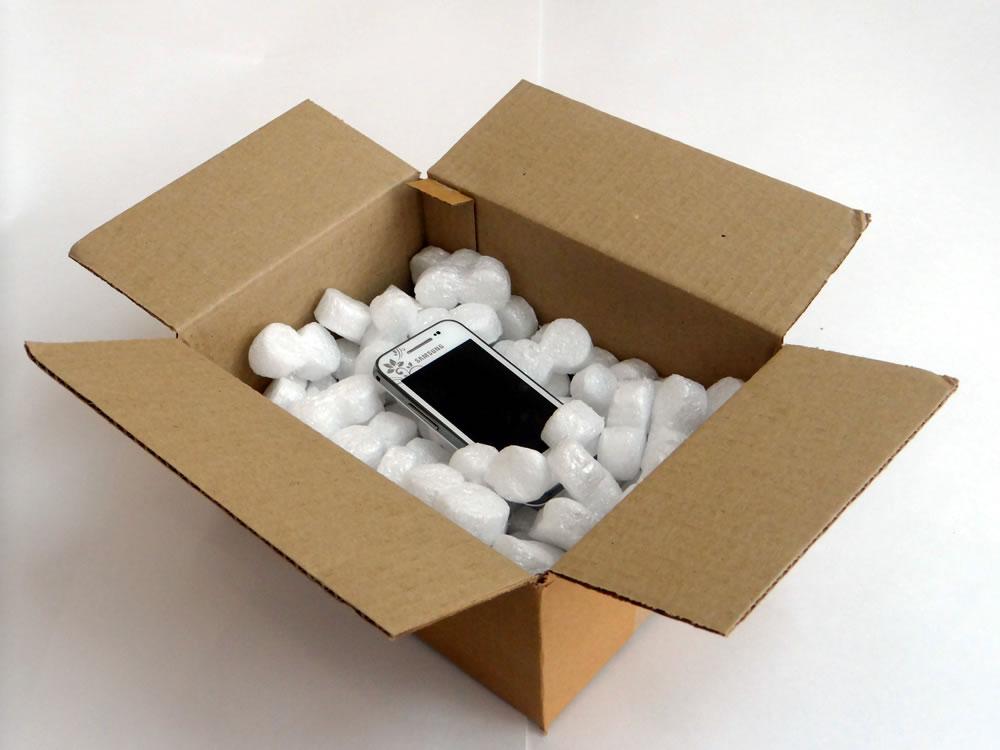 Наполнитель в коробке для подарка 90